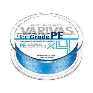 VARIVAS High Grade PE X4 Water Blue 150m #0.6 10lb PE Braid Line