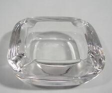 Kristallglas Aschenbecher Glas  Design Art Vannes France 70er Jahre