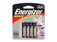 ENERGIZER Max Plus POWERSEAL 1.5V AAA Alkaline Battery, 4-pack