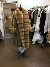 DENNIS BASSO RUSSIAN GOLDEN SABLE SWING COAT NEW RETAIL $180,000 Celebrity Gift