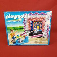 New 2013 Playmobil 5547 Tin Can Shootout Summer Fun Amusement Carnival Game
