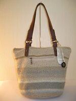 The Sak Sand Multi Hand Crocheted Silverwood Tote Bag $99