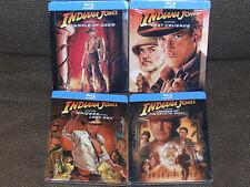 Indiana Jones Collection (1, 2, 3, 4) Quadrilogie Steelbook [Blu-ray] Neu & OVP