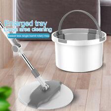 Easy Magic Floor Mop Bucket Microfiber Head 360° Rotating Spinning Mop Clean Kit