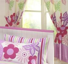 Cotton Blend Striped Ready Made Curtains & Pelmets