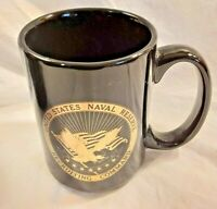United States Naval Reserve Recruiting Command Coffee Cup Black & Gold