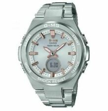 Casio GSHOCK Women's Baby-G G-MS MSGS200D-7A Watch Silver Timepiece
