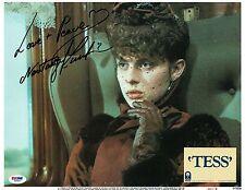 Nastassja Kinski Signed Tess Authentic Autographed 11x14 Lobby Card PSA #Z85947