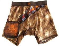 New Star Wars Chewbacca Men's Boxer Briefs (Small) 28-30 Satin Utility Belt