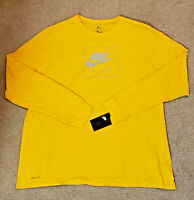 NEW Nike Authentic Men's Nike Air Logo Soft Touch Long-Sleeve T-Shirt Size 3XL