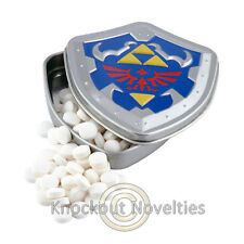 Zelda Peppermints Tin Container Hard Candies Mints Link Game Nintendo Candy