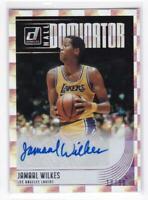 2018-19 Jamaal Wilkes #/99 Auto Panini Donruss Lakers