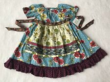NEW Matilda Jane Paint By Numbers Homegrown Peasant Dress 8 NWT Air Balloon