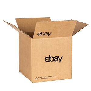 """8"""" x 8"""" x 8"""" Boxes – Black Logo"""