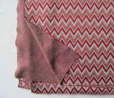 Ponti knit Fabric Soft stretch Medium weight Chevron Pattern Lot of 3 yards