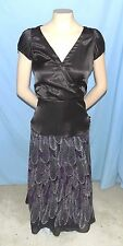 Awesome & Chic Zara Basic Brown Top Size Small Career or Casual Cap Sleeves