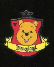 DLR 2012 Hidden Mickey Series Crest Winnie the Pooh Disney Pin 88755