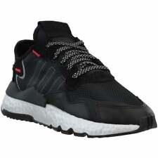 Zapatillas Adidas Nite Jogger para Mujer Zapatos Casuales-Negro