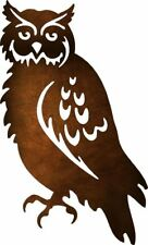 DXF CNC dxf for Plasma Router Vector Owl 10 Man Cave Yard Art Wall Decor