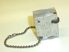 Vintage mini Solid aluminio Pocket liftarm lighter-WWII (1939-1945) - Nice