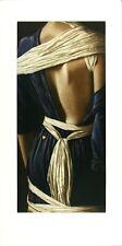 WILLI KISSMER -Blau Weiss II   original etching hand signed