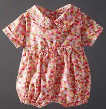 *SALE* 12-18m Powell Craft Girls Cotton Baby Summer Romper Sunsuit Playsuit