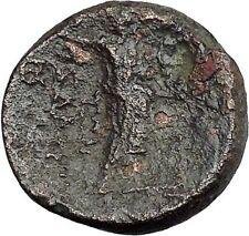 ANTIOCHOS IV EPIPHANES Seleukid 175BC Zeus Rare R1 Ancient Greek Coin  i50372