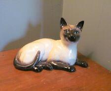 Vintage Beswick England # 1559 Siamese Cat Figurine