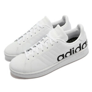adidas Grand Court LTS White Black Men Casual Lifestyle Shoes Sneakers H04558