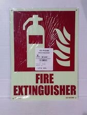 Lawson/Glo-Brite  Photoluminescent Fire Extinguisher Sign (LS058-1)