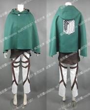 Attack On Titan Eren Jaeger Halloween Military Suit Cosplay Costume J001