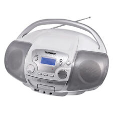 Telefunken RC1001M tragbarer MP3-CD-Player (PLL-Tuner, UKW-Radio, Aux-In)