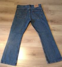 LEVI'S 507 BOOTCUT JEANS SIZE 34 X 29 RED TAB VGC SEE DESCRIPTION