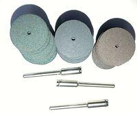 Dremel 425 Silicon Rubber Polishing Wheel Kit 33 pieces, 30 wheels + 3 Mandrels