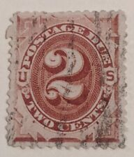 UNITED STATES 1891. 2 CENTS POSTAGE DUE. SCOTT# J16