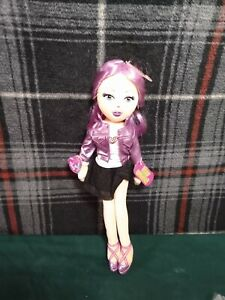 """Ty Beanie Girlz  Totally Trish Plush Doll Blonde Girl 13"""" tall NEW With Comb"""