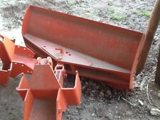 Snow plough for compact tractor came of kubota tractor muck