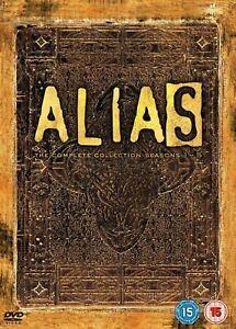 ALIAS Season 1 2 3 4 5 (Region 4) DVD The Complete Series Collection 1-5