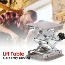 Aluminum Router Lift Table Wood-Working Engraving Lab Lifting Stand Rack