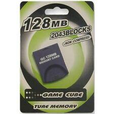 SPEICHERKARTE 128 MB FÜR GAMECUBE / WII KONSOLE SPEICHER MEMORY CARD 128MB