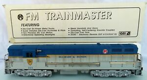 Custom Trains FM Trainmaster Delaware & Hudson #101 Locomotive LN RARE Cira 1993