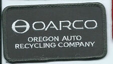 OARCO Oregon Auto Recycling Company patch 2-1/2 X 4-1/2 #848