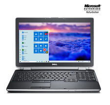 "Dell Latitude Laptop 15.6"" Intel i5 HDD SSD 🚩16GB RAM 🎮 WiFI HDMI + Win 10 Pro"