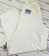 """Vintage 1992 Zubaz Houston Oilers NFL FLEX Lounge Pants Gray Large RARE 31.5"""" L"""