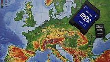 detaillierte Topo - Karte Deutschland + Europa 2017 auf 16GB SanDisk für Garmin