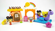 NickJr Ni Hao Kai Lan Mega Bloks Lot Bakery Dragon Boat Rintoo Tolee Mr Fluffy