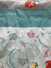 Disney The Little Mermaid Princess Ariel Flounder Twin Flat Sheet Craft Fabric