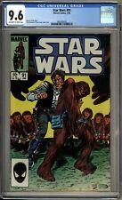 Star Wars 91 CGC Graded 9.6 NM+ Marvel Comics 1985