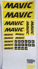 Plaquette Auto collants Stickers MAVIC