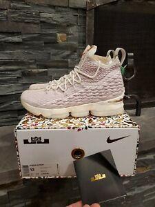 Nike Lebron 15 XV Kith Performance Rose Gold Size 12 DEADSTOCK